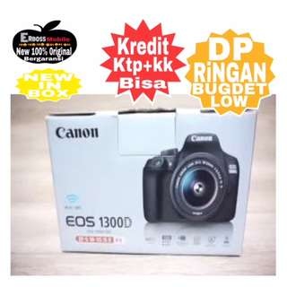 Cicilan Ringan Dp 700RB Canon EOS 1300D Kit 18-55 IS II ditoko ktp+kk wA;081905288895