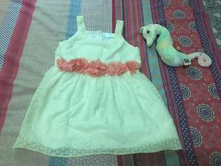 Preloved Baby Dress size up to 18m. Like new.