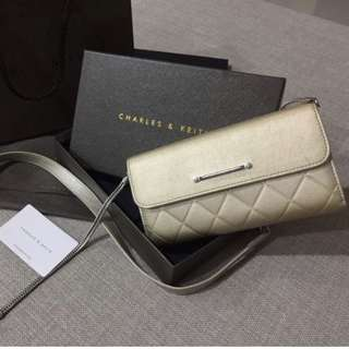ORIGINAL Charles & Keith Wallet on Chain