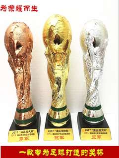 World Cup 2018 trophy's
