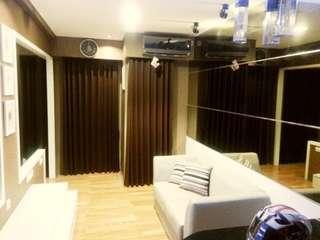 Sewa Tahunan Puncak Permai Apartment 2 BR Modern Minimalism Full Furniture