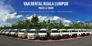 Van Rental / Van Sewa Kuala Lumpur