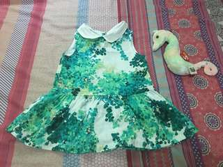 Preloved Baby Dress size 18m. Like New, once used.