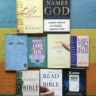 Christian Books free mail nm