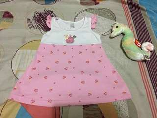 Preloved Baby Dress size 6 to 9m.