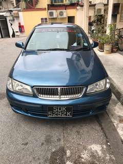 Sporty Nissan Sunny 1.5A