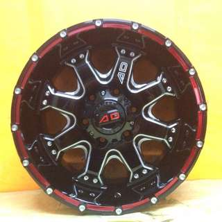 17inch SPORT RIM 4x4 ORIGINAL AD508 RACING WHEELS