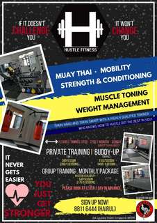 Strength & Conditioning. Muay thai. Mobility.
