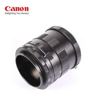 PROOCAM EOS Macro Extension Tubes Ring close up for Canon EOS Camera