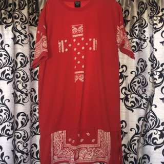 Red bandana t shirt