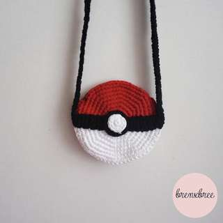 Pokeball sling bag