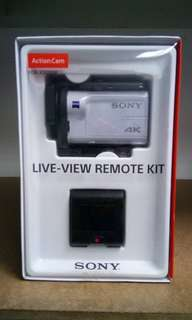 Sony FDR-X3000R Action Cam with Wi-Fi & GPS