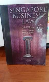 Singapore Business Law 7th Edition. Benny S. Tabalujan, Valerie Du Toit-Law, Julie L.Y Huan