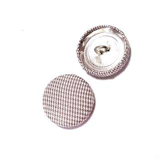 Fabric Buttons (set of 10)