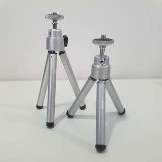 Portable Mini Tripod (2 Heights: 14 cm + 12 cm)