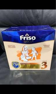 Friso Gold Stage 3 formula milk