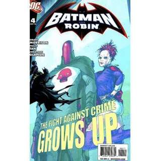 "BATMAN & ROBIN  #4 - 6 (2005) ""Revenge of the Red Hood"""