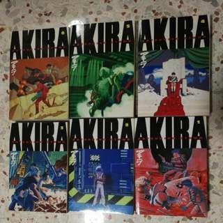 Akira Manga english complete. Volume 1 to 6