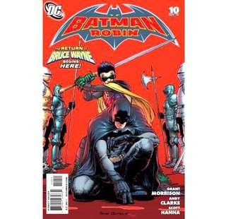 "BATMAN & ROBIN #10 -12 (2010) ""The Haunting of Wayne Manor"""