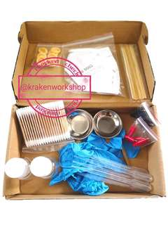 Spray Paint craft scale model cleaning tool kit