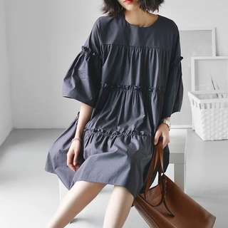 (More cols) Overton Wide sized flare Tunic / dress