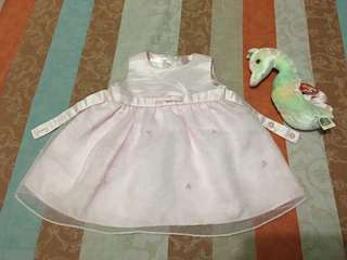 Preloved Baby Dress/gown size 3m.