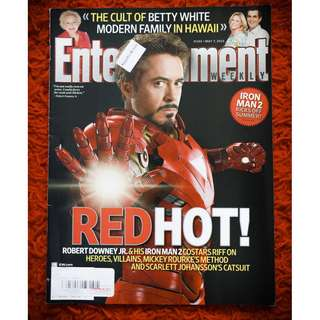Iron Man issue (Entertainment Weekly 7 May 2010 issue)