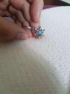 (RESERVED)Preloved Pandora snowflake charm