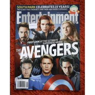 Avengers Issue (Entertaiment Weekly 7 Nov 2011 issue)