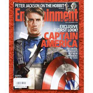 Captain America issue (Entertainment Weekly 5 Nov 2010 issue)