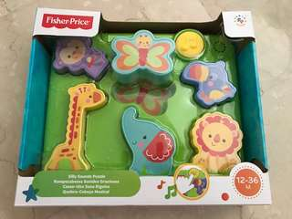 Fisherprice silly sounds puzzle