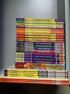 26 Geronimo books to clear