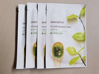 Innisfree Green Tea Mask