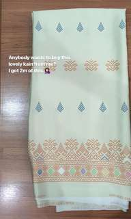 Songket Swiss Silk Cotton