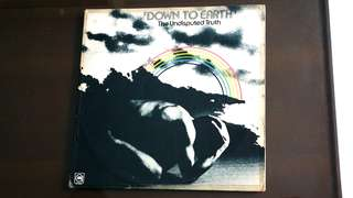 UNDISPUTED TRUTH. down to earth. Vinyl record