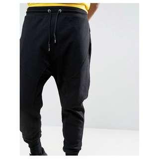[Joggers] 男裝 束腳褲 New Look Jogger Pants Black 黑色 Men