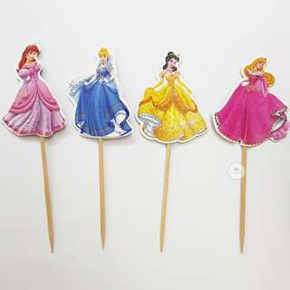 Disney Princess Cupcake topper Birthday Baby SHower Partyy decoration
