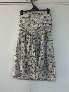 Zara Tube Floral Dress
