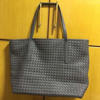 Sales‼️灰色格仔紋大袋◻️