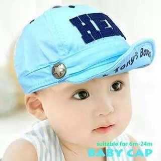 (1) Baby Cap - BLUE