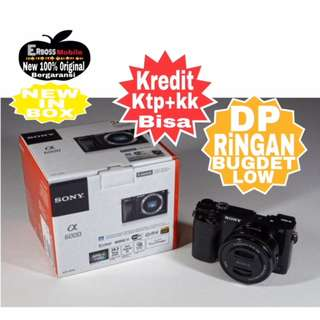 Cicilan Ringan Dp 800rb Sony Alpha A6000 Kit 16-50mm ditoko ktp+kk Wa;081905288895