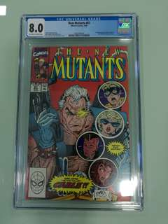 New Mutants #87, First Appearance of Cable!