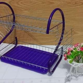 kn Rak piring warna ungu