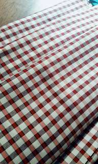fabric checkered