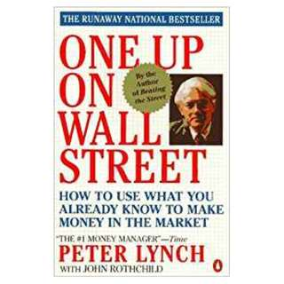 One up on the wall street by Peter Lynch