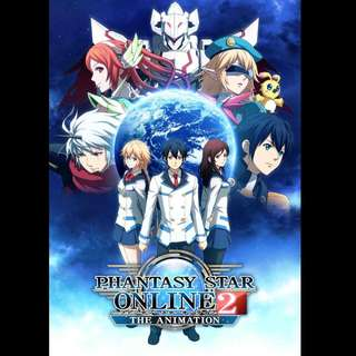 [Rent-TV-Series] Phantasy Star Online 2 The Animation (2016) [ANIME]