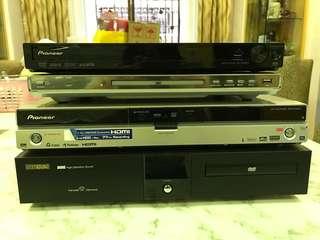 DVD players/AV Sound System