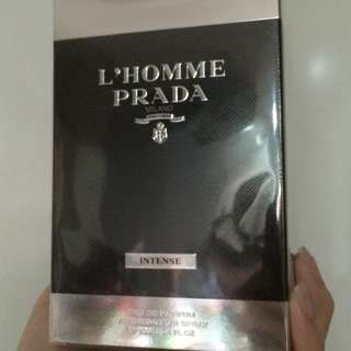 Prada L'Homme Intense EDP 100ML (Purchased from Changi Airport)