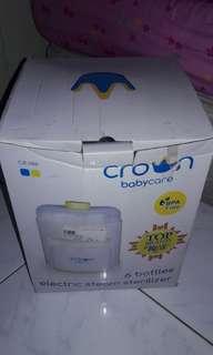 CROWN bottle sterilizer / alat steril botol susu / baby