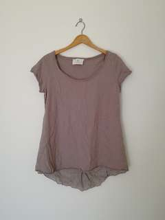 A. Browns & Co Brown Top